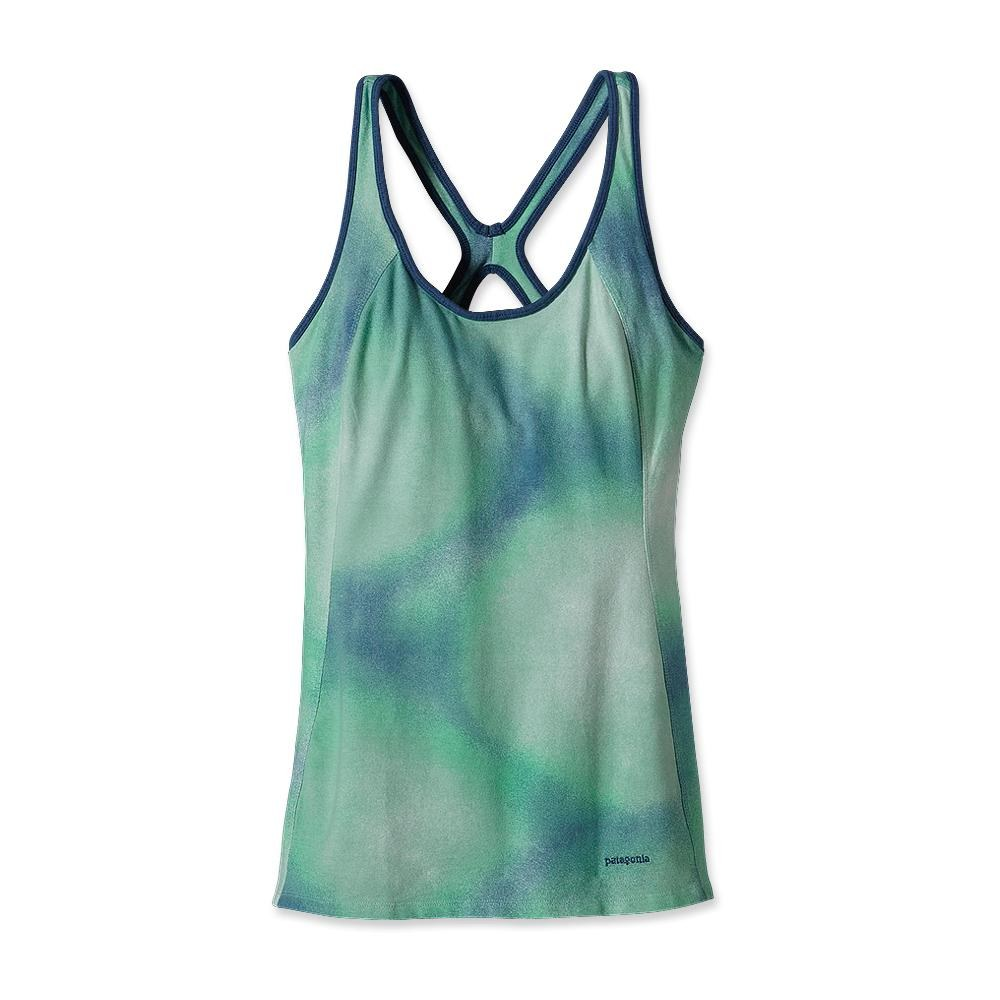 Patagonia Bisect Tank Watercolor: Glass Blue-30