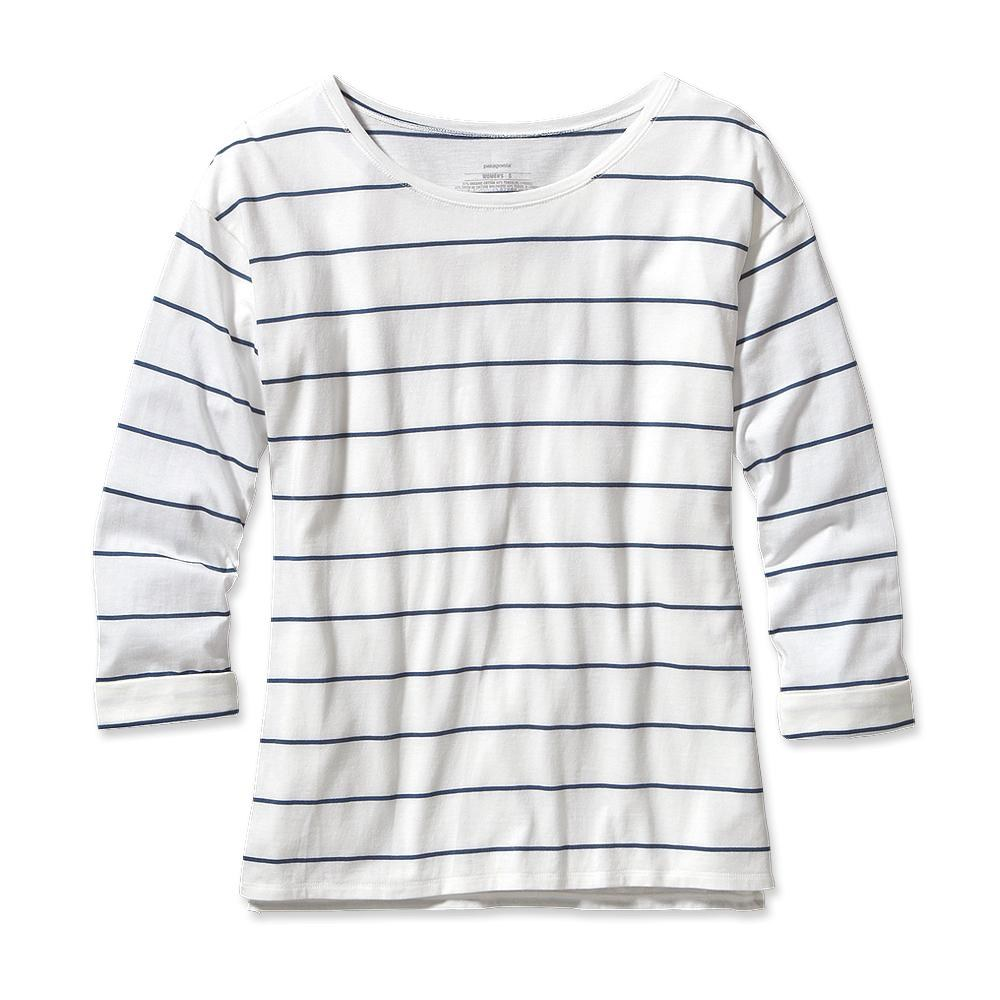 Patagonia Shallow Seas Top Congo Stripe: White-30