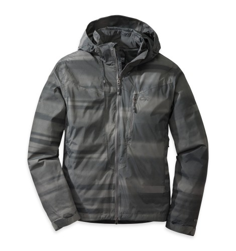 Outdoor Research Men´s Igeno Jacket 976-PEWTER PRINT-30