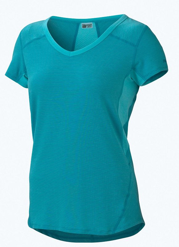 Marmot Wm's Julia SS Light Aqua/Ocean-30