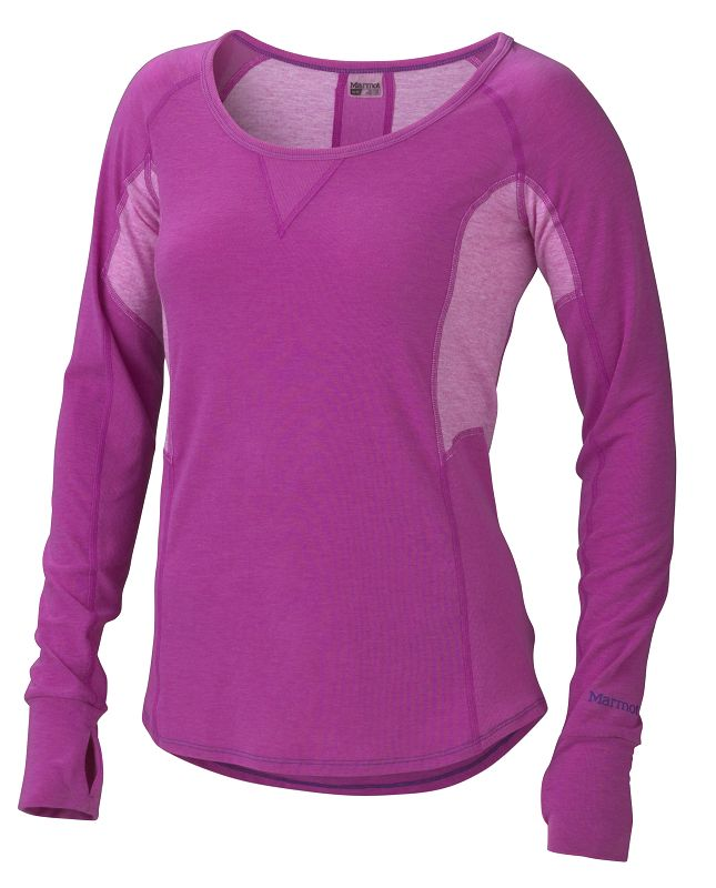 Marmot Wm's Helen LS Beet Purple-30