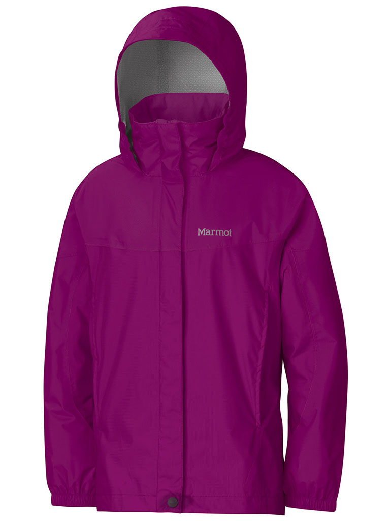 Marmot Girl's PreCip Jacket Beet Purple-30