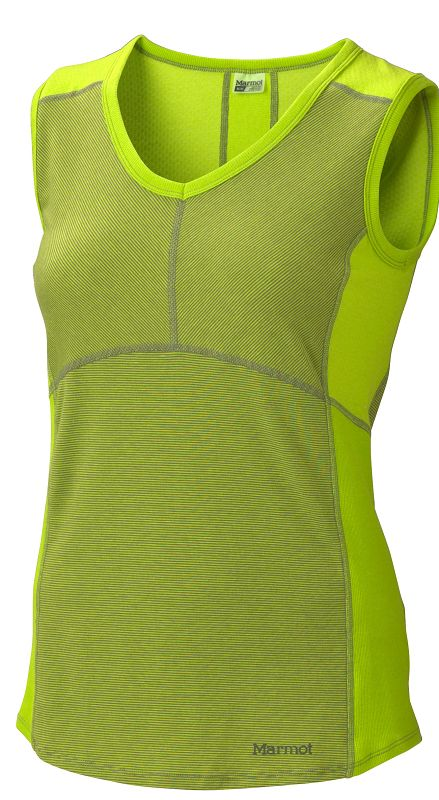 Marmot Wm's Anna Tank Acid Pepper/Stone Green-30