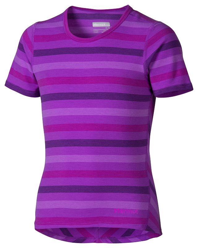 Marmot Girl's Gracie SS Purple Shadow-30