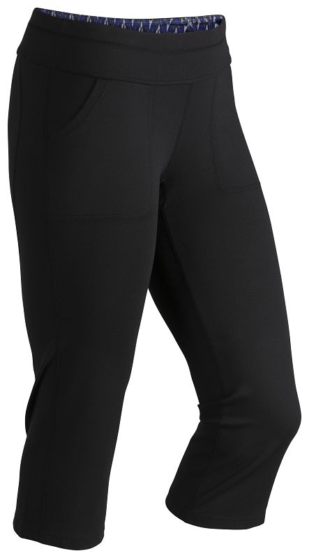 Marmot Wm's Everyday Knit Capri Black-30