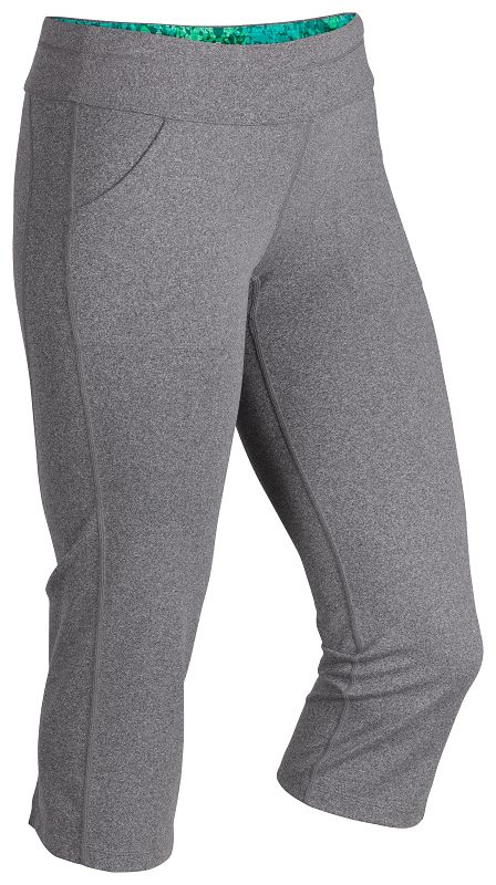 Marmot Wm's Everyday Knit Capri Dark Steel Heather-30