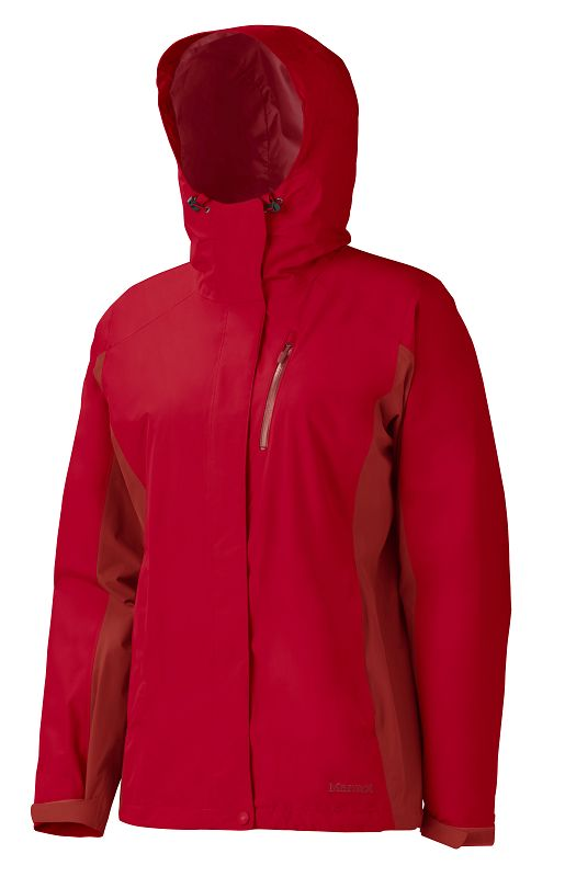 Marmot Wm's Southridge Jacket Team Red/Dark Crimson-30