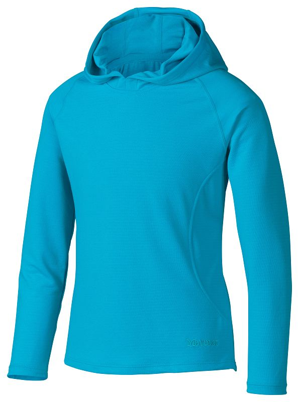 Marmot Girl's Kylie Hoody Sea Breeze-30