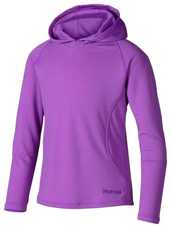 Marmot Girl's Kylie Hoody Purple Shadow-30