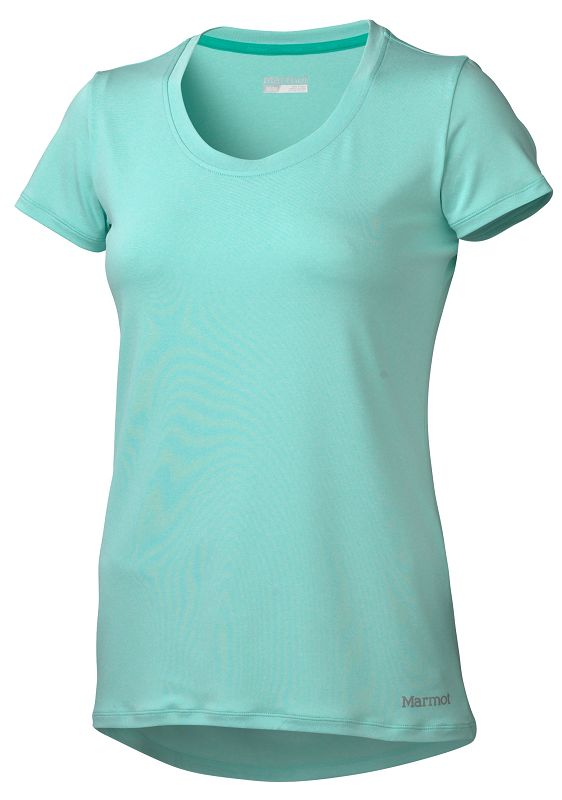 Marmot Wm's All Around Tee SS Ice Green Heather-30