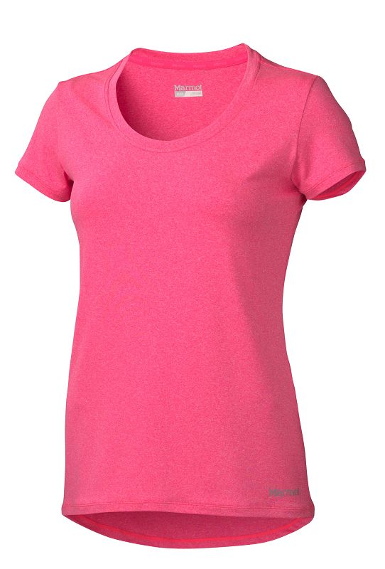 Marmot Wm's All Around Tee SS Bright Pink Heather-30