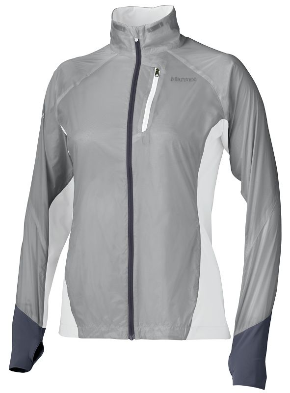 Marmot Wm's Dash Hybrid Jacket Silver/White-30
