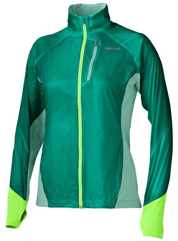 Marmot Wm's Dash Hybrid Jacket Gem Green/Ice Green-30