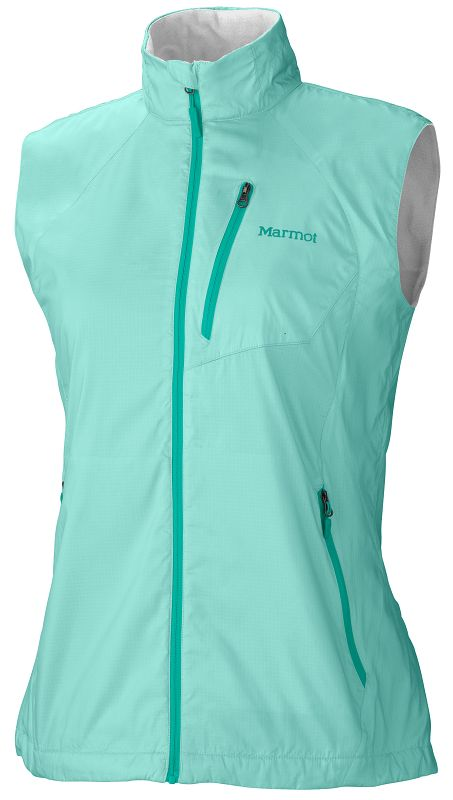 Marmot Wm's Stride Vest Ice Green-30