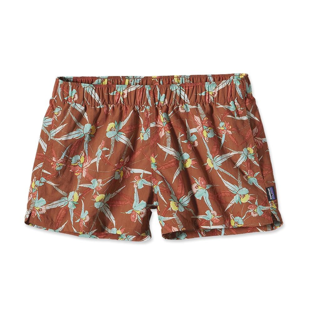 Patagonia Barely Baggies Shorts 2 ½ Inch Toucan Swing: Titian Brown-30