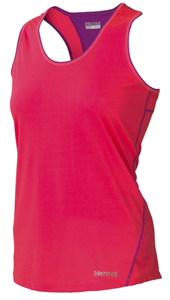 Marmot Wm's Essential Tank Bright Pink/Beet Purple-30