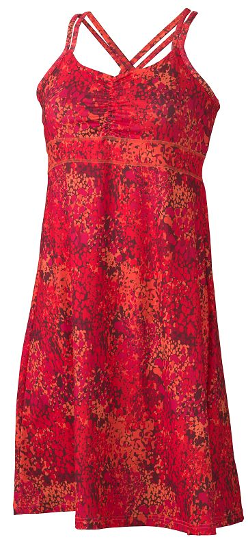Marmot Wm's Taryn Dress Orange Coral Water-30