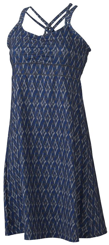 Marmot Wm's Taryn Dress Dark Steel Ikat-30