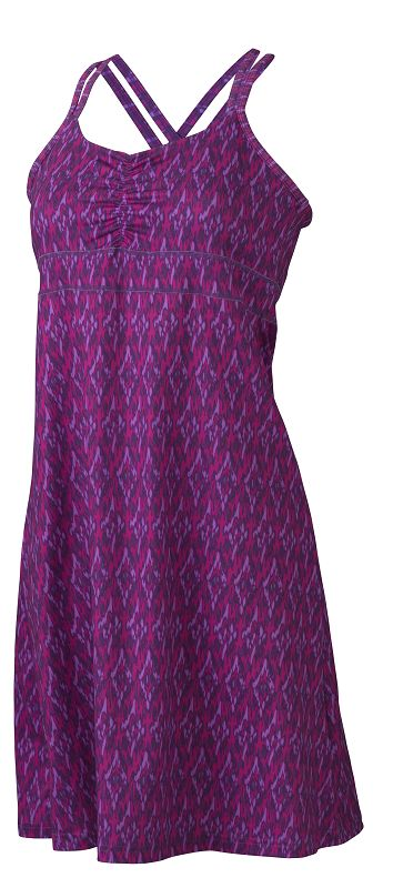 Marmot Wm's Taryn Dress Spring Purple Ikat-30