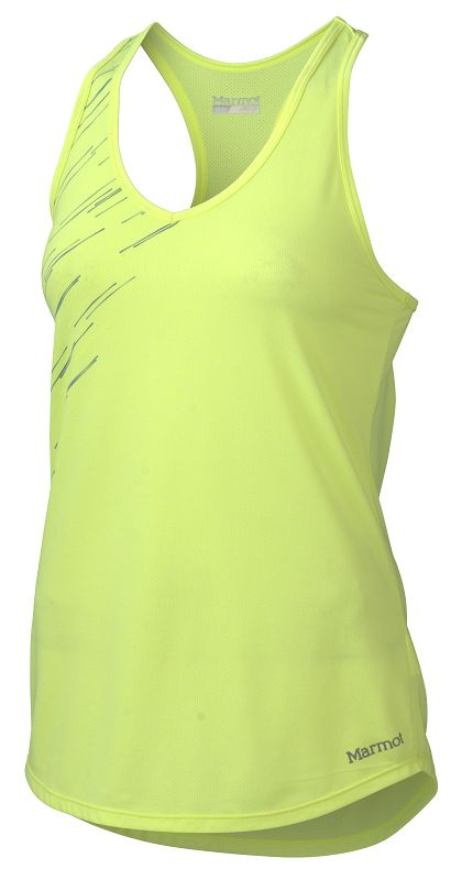 Marmot Wm's Layer Up Tank Hyper Yellow Heather-30