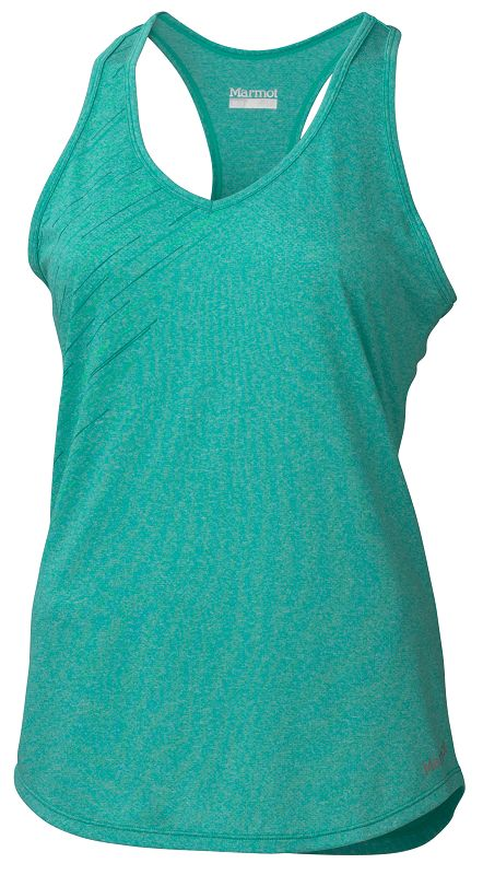 Marmot Wm's Layer Up Tank Gem Green Heather-30