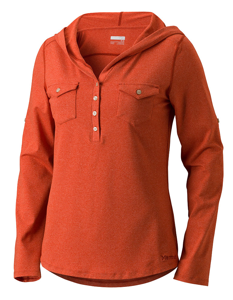 Marmot Wm's Laura LS Bright Rust-30