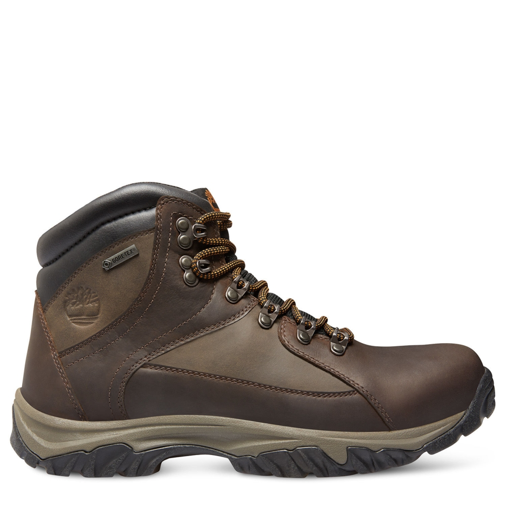 Timberland Men's Thorton Mid Waterproof Hiking Boots Dark Brown-30