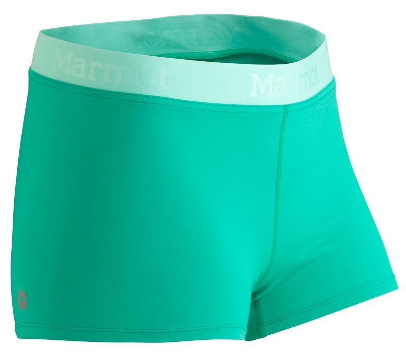 Marmot Wm's Motion Short Gem Green/Ice Green-30