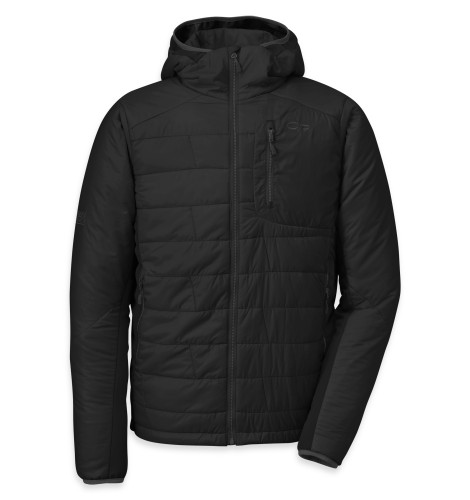 Outdoor Research - Men´s Cathode Hoody 189-BLACK/CHARCOAL - Isolation & Winter Jackets -