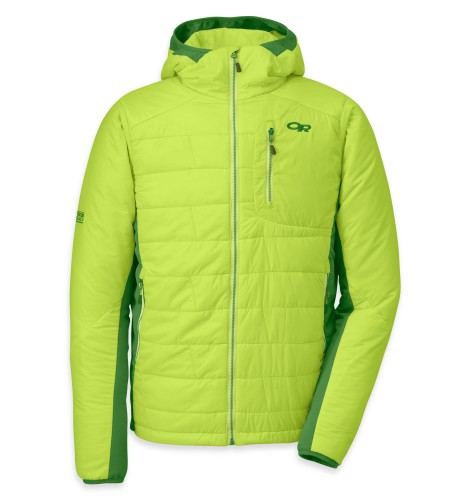 Outdoor Research - Men´s Cathode Hoody 529-LEMONGRASS/LEAF - Isolation & Winter Jackets - XL