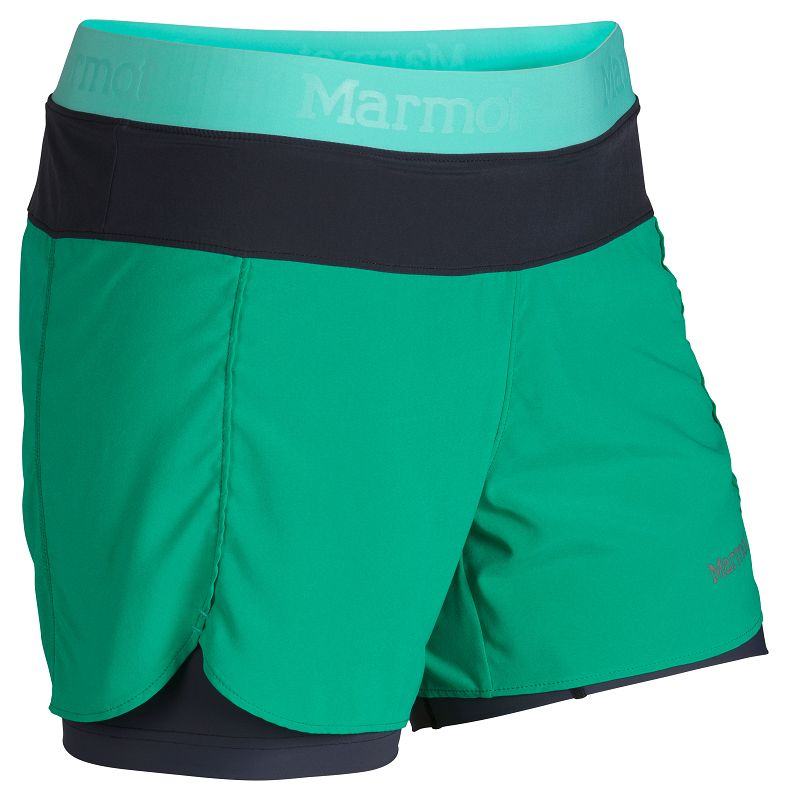 Marmot Wm's Pulse Short Gem Green/Ice Green-30