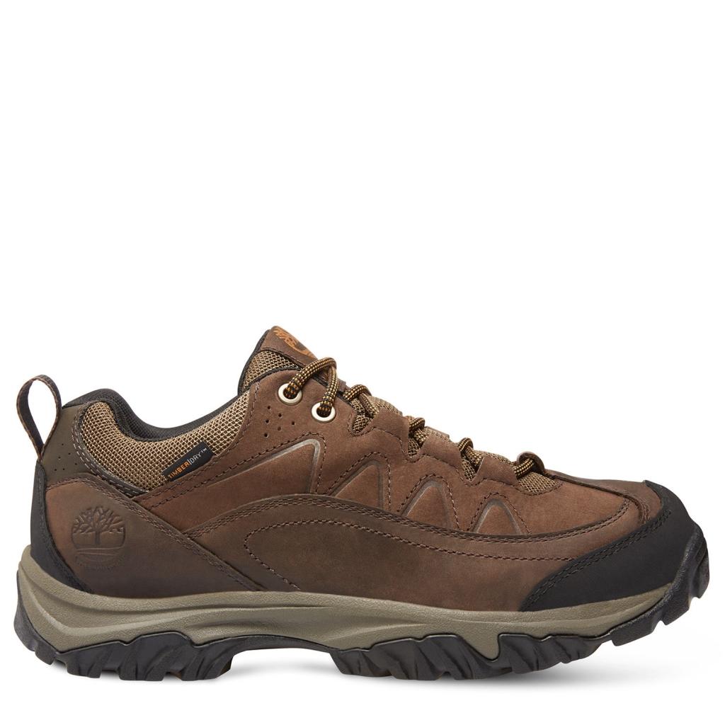 Timberland Men's Bridgeton Low Waterproof Dark Brown-30