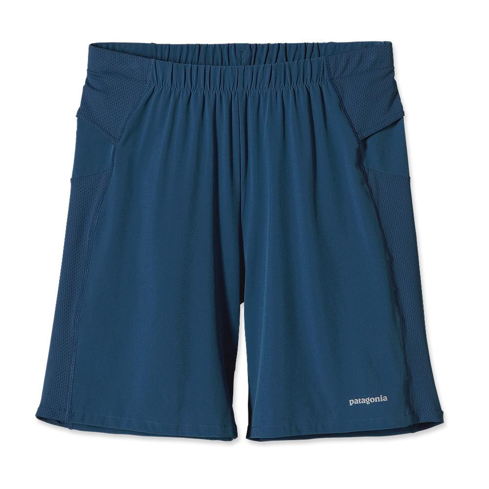 Patagonia Nine Trails Shorts 8 Inch Glass Blue-30