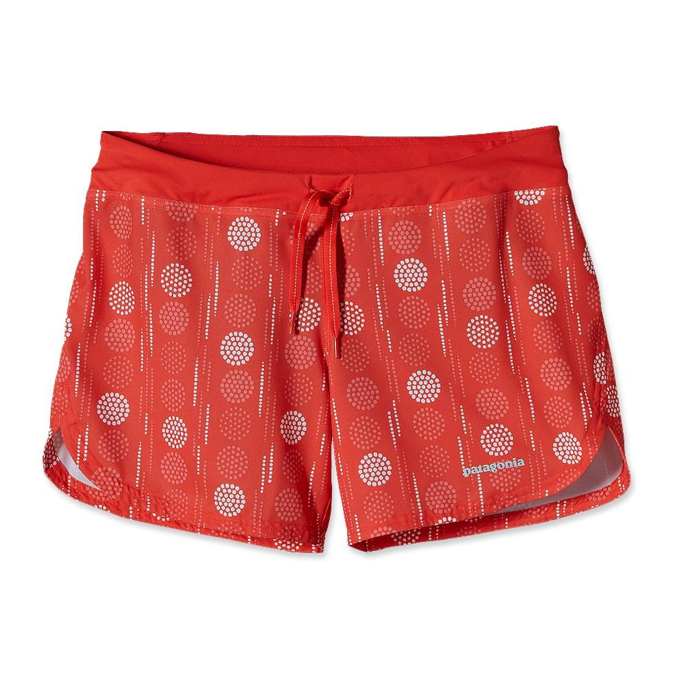 Patagonia Nine Trails Shorts 8 Inch Opal Trail: Catalan Coral-30