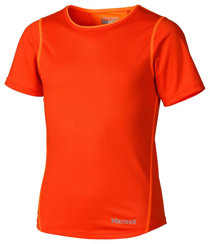 Marmot Girl's Essential SS Coral Sunset/Bright Orange-30