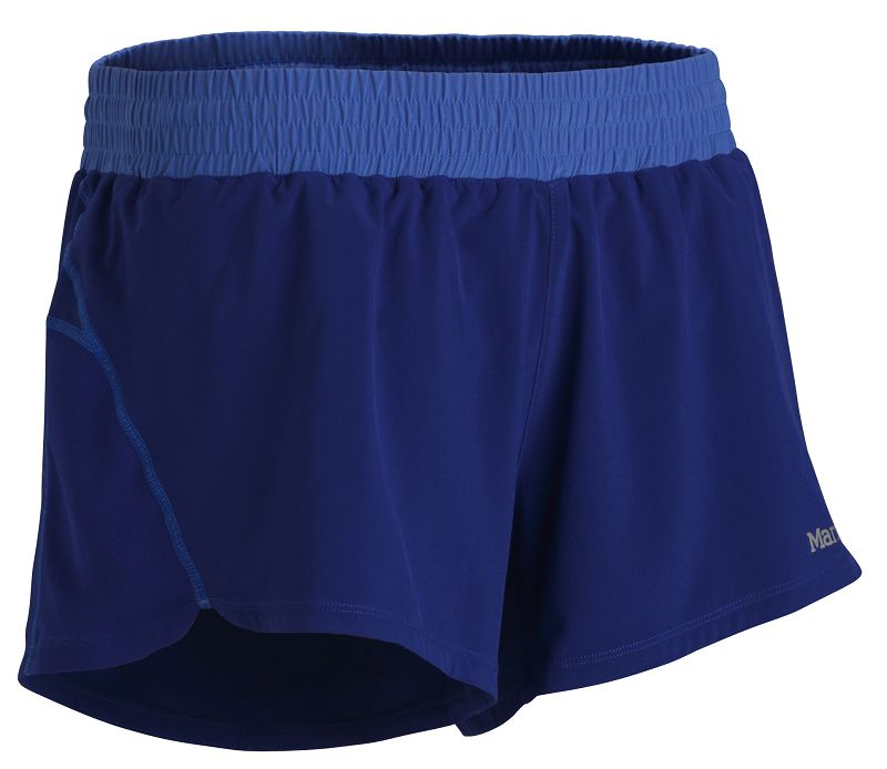 Marmot Wm's Zeal Short Midnight Purple-30