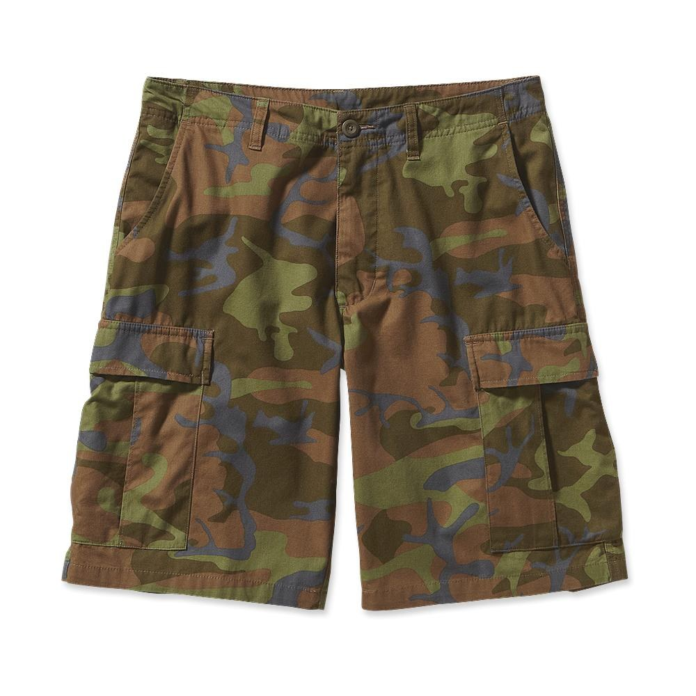 Patagonia All-Wear Cargo Shorts Forest Camo: Hickory-30