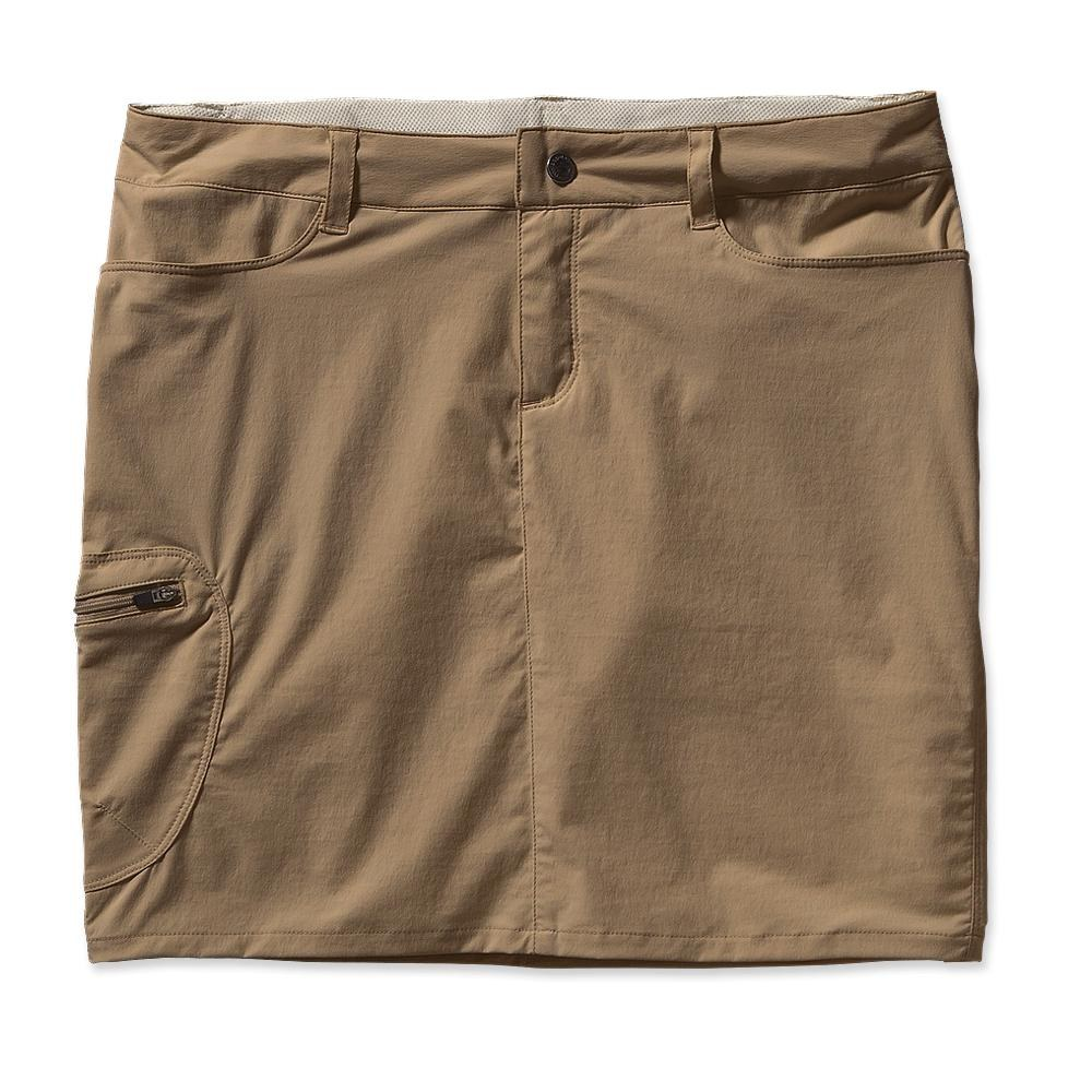 Patagonia - Rock Craft Skirt - 16 Inch Ash Tan - Skorts - 14