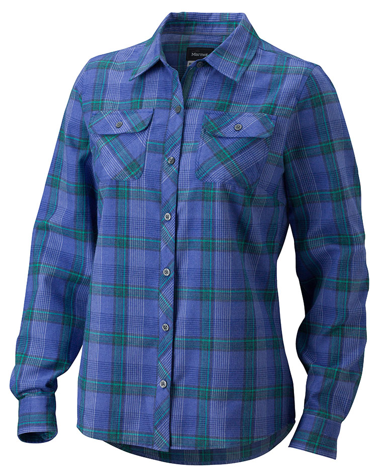 Marmot Wm's Bridget Flannel LS Gemstone-30