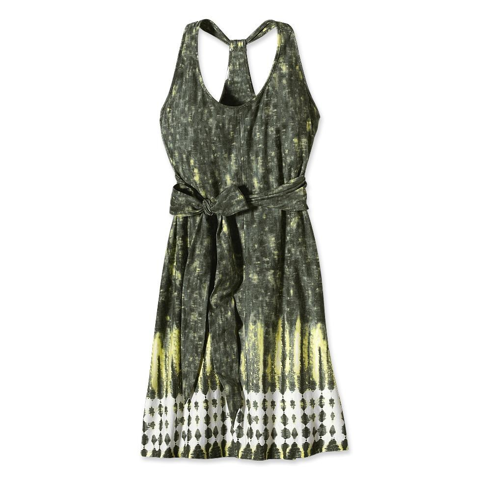 Patagonia Kiawah Island Dress Shibori Border: Feather Grey-30