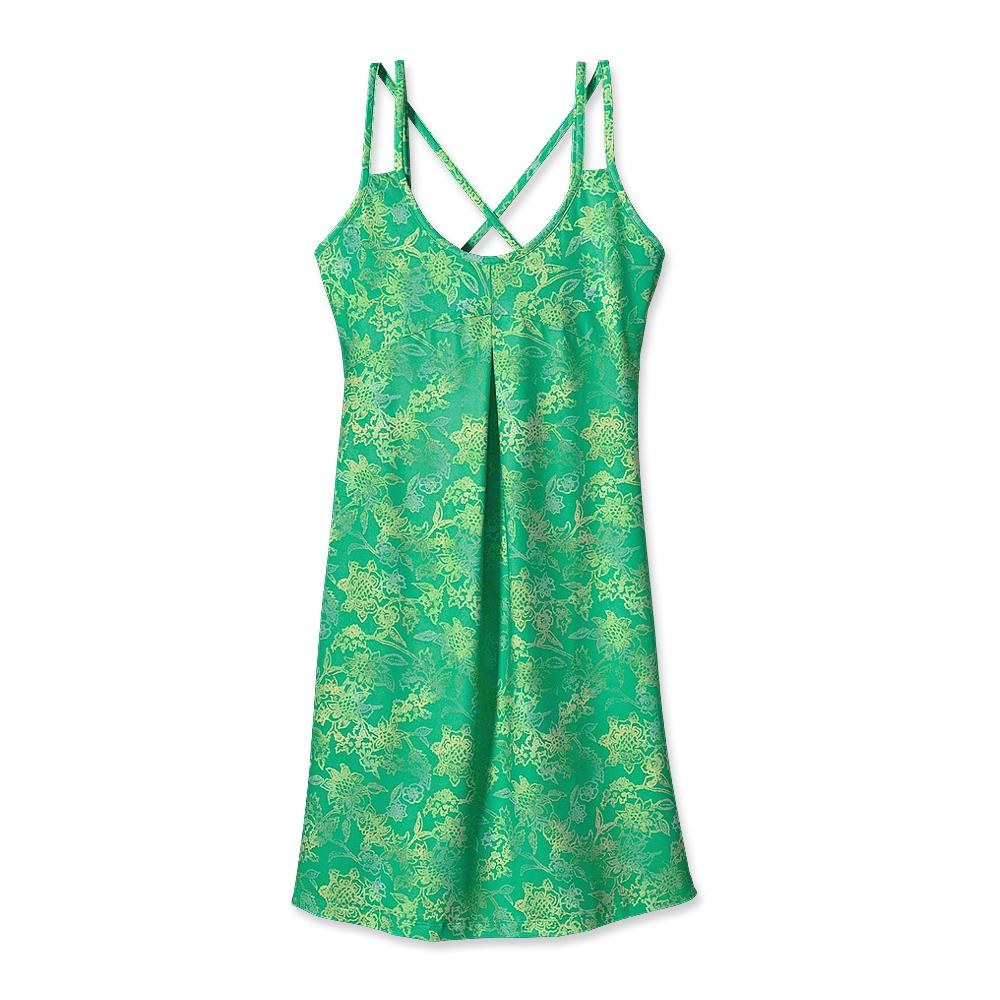 Patagonia Garden City Dress Sanded Floral: Desert Turquoise-30