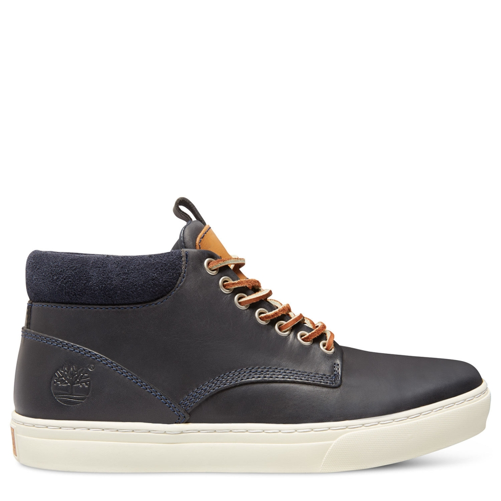 Timberland Men's Adventure Cuptoe Chukka Navy Oiled-30