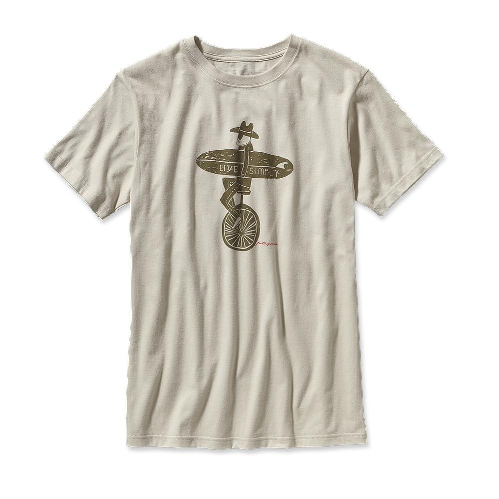 Patagonia Live Simply Unicycle T-Shirt Bleached Stone-30
