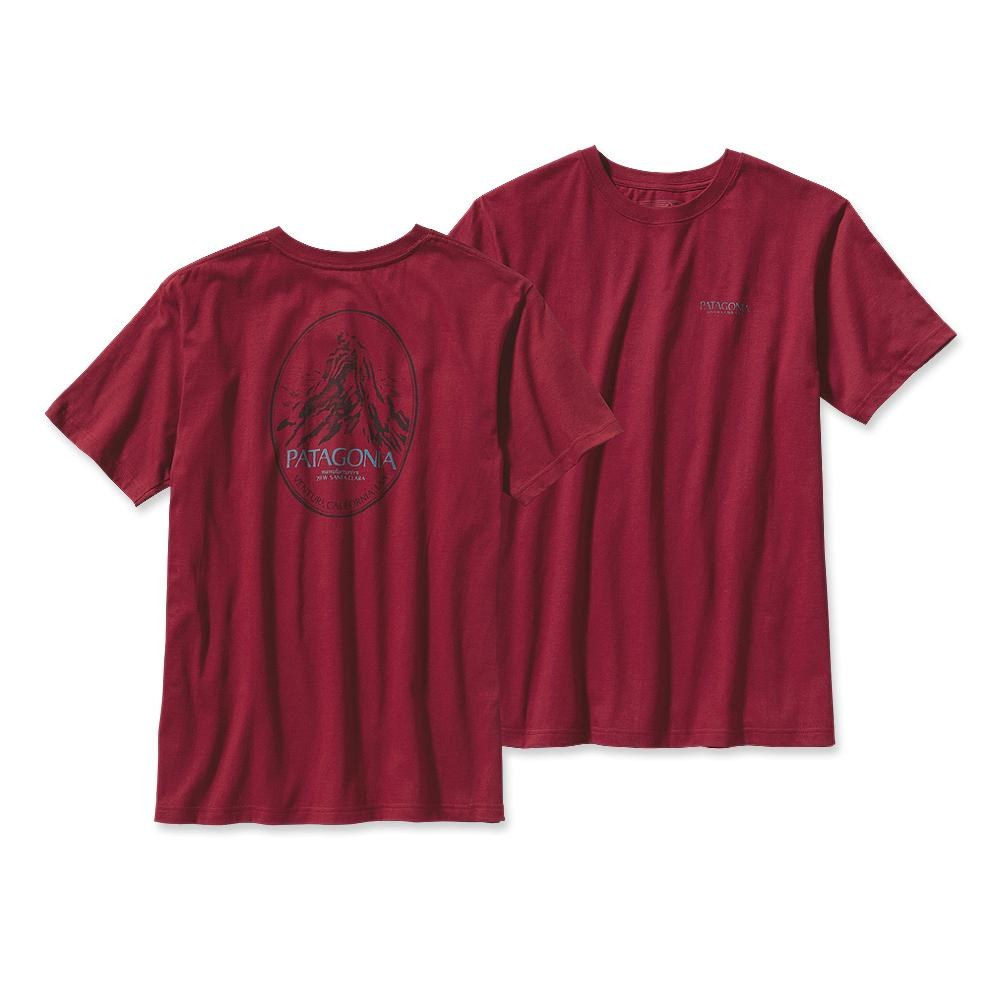 Patagonia Mountain Frame T-Shirt Wax Red-30