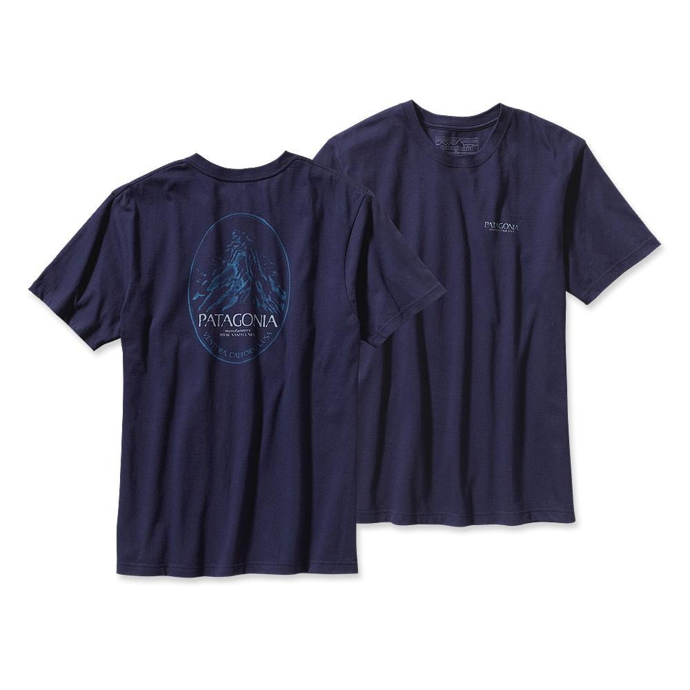 Patagonia Mountain Frame T-Shirt Classic Navy-30