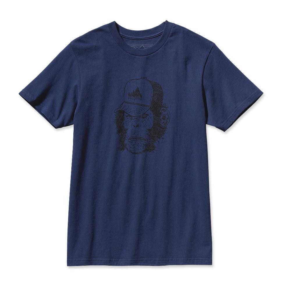 Patagonia Dirtbag Monkey T-Shirt Classic Navy-30