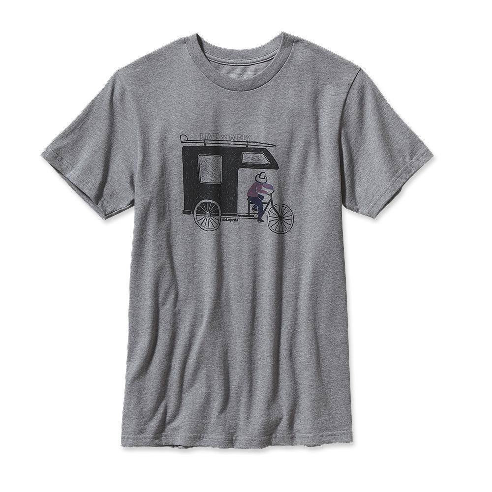 Patagonia Live Simply Trailer T-Shirt Gravel Heather-30