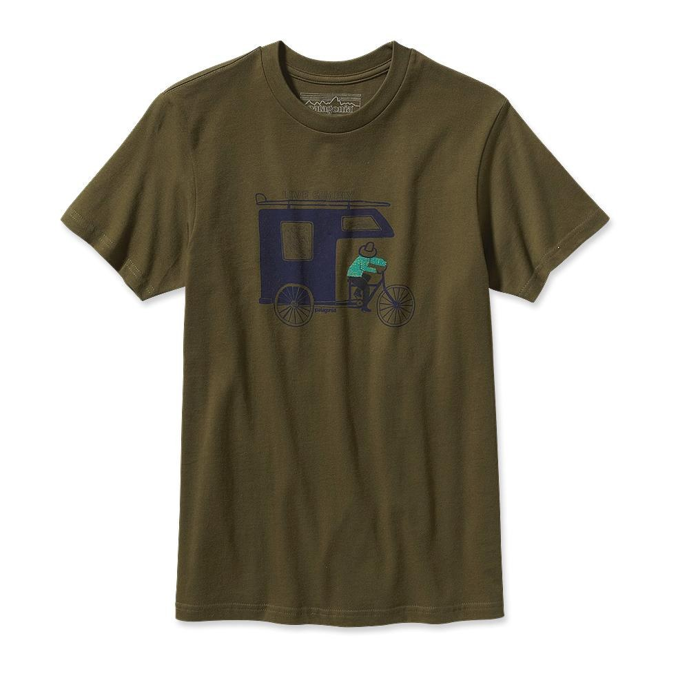 Patagonia Live Simply Trailer T-Shirt Hickory-30