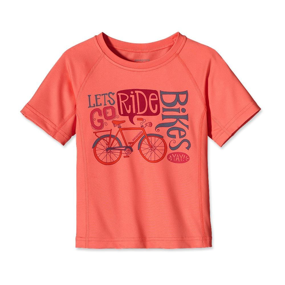 Patagonia Baby Capilene 1 Silkweight T-Shirt Coral-30