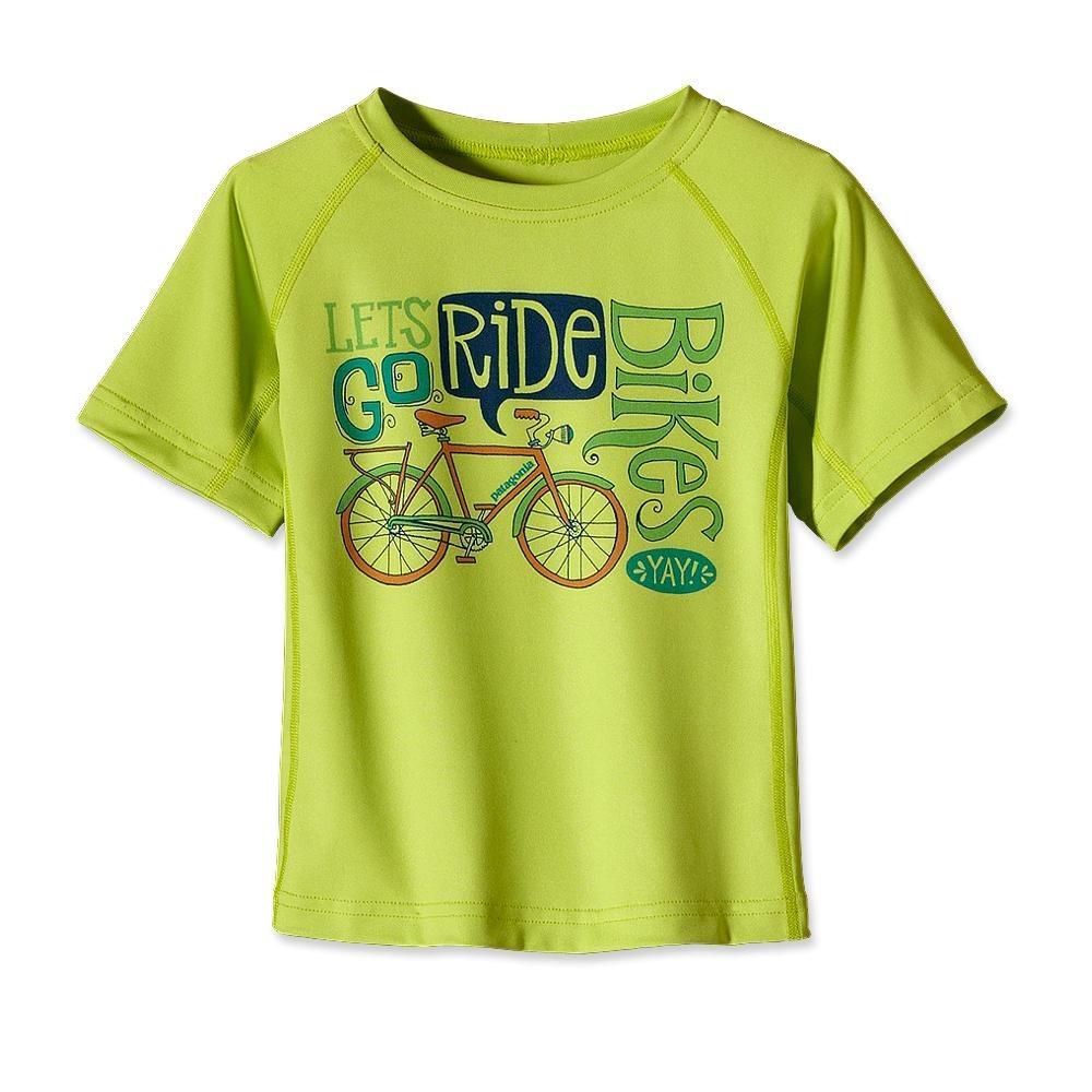 Patagonia Baby Capilene 1 Silkweight T-Shirt Lotus Green-30